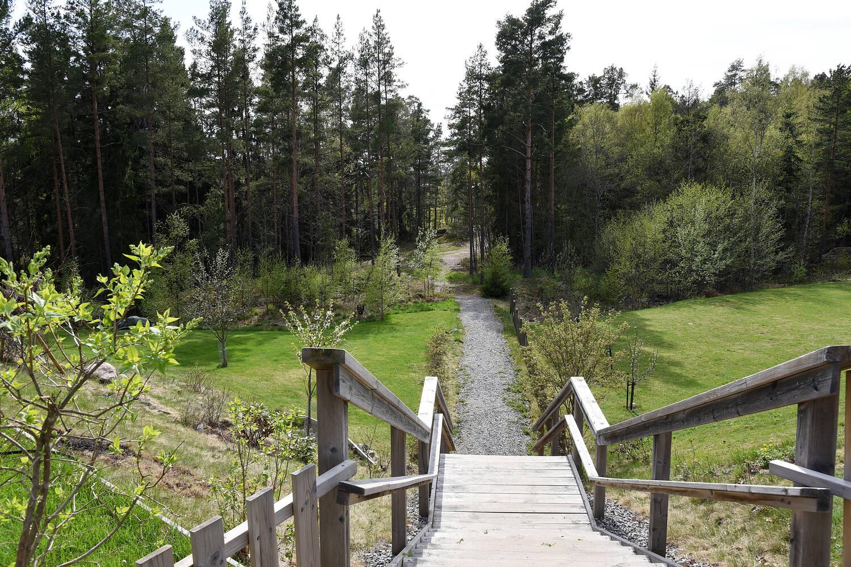 Promenadväg till Artipelag