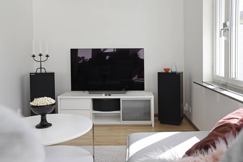Tv-hörna