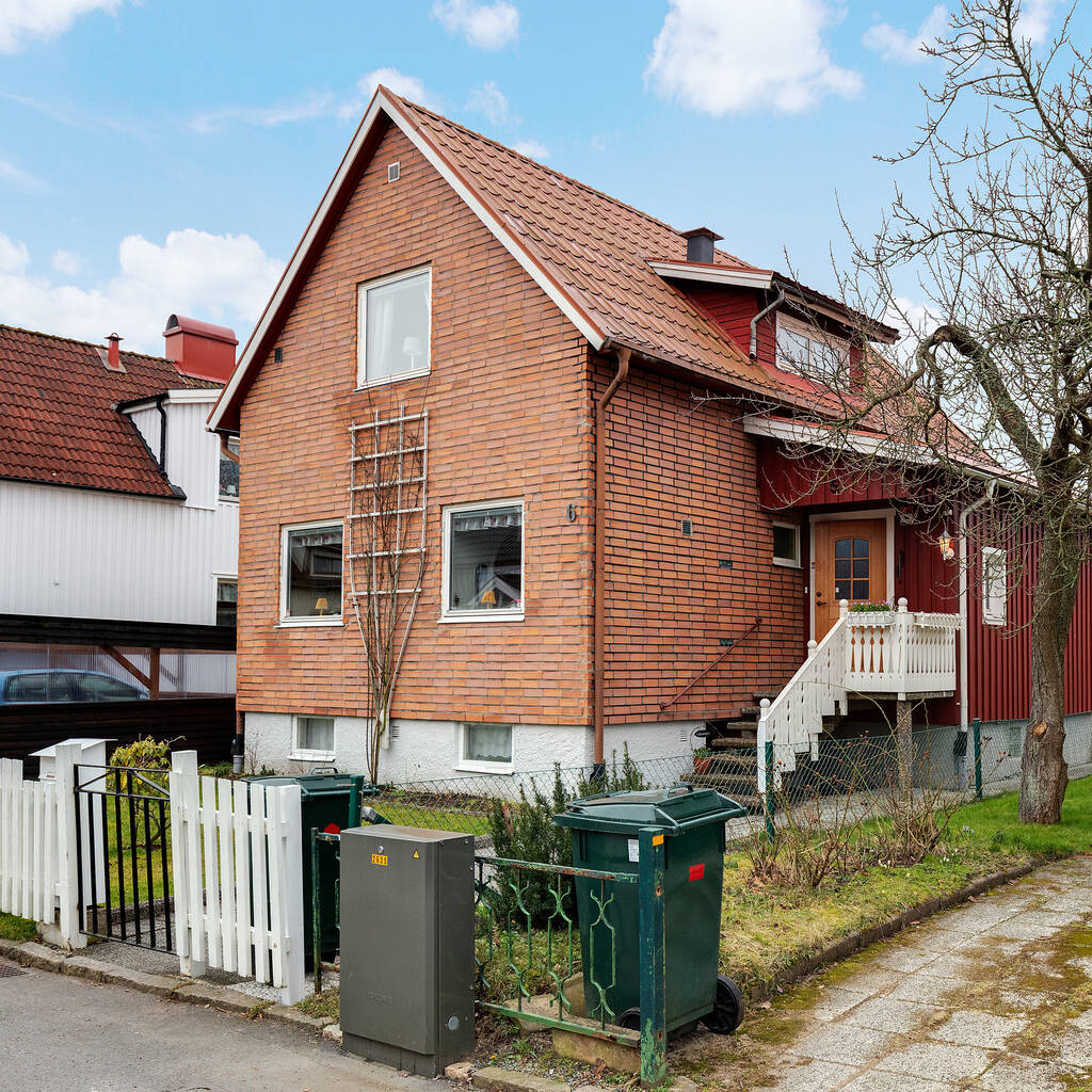 Mycket trivsamt hus med bra läge i populärt område