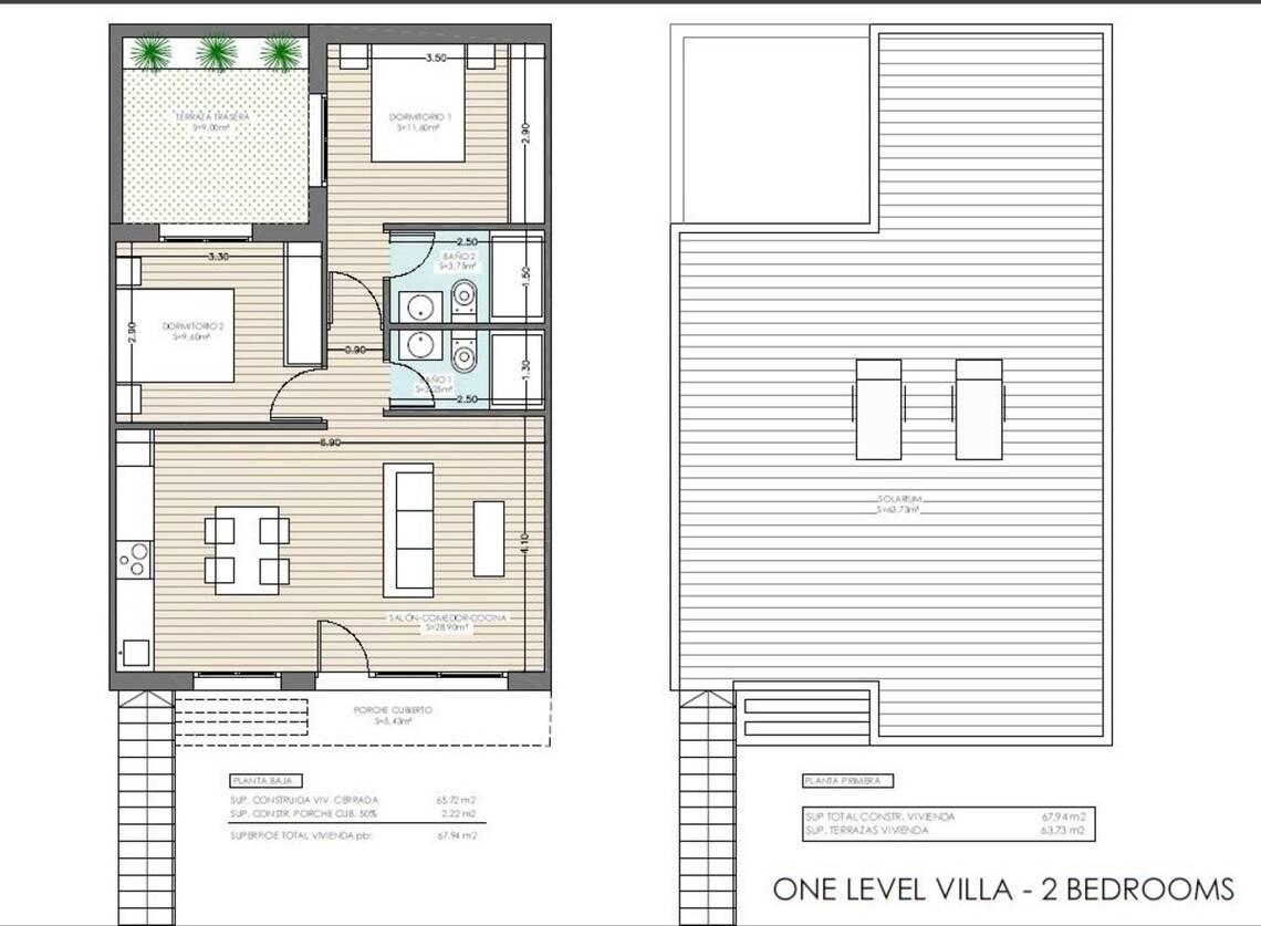 Villa 2 Dormitorio