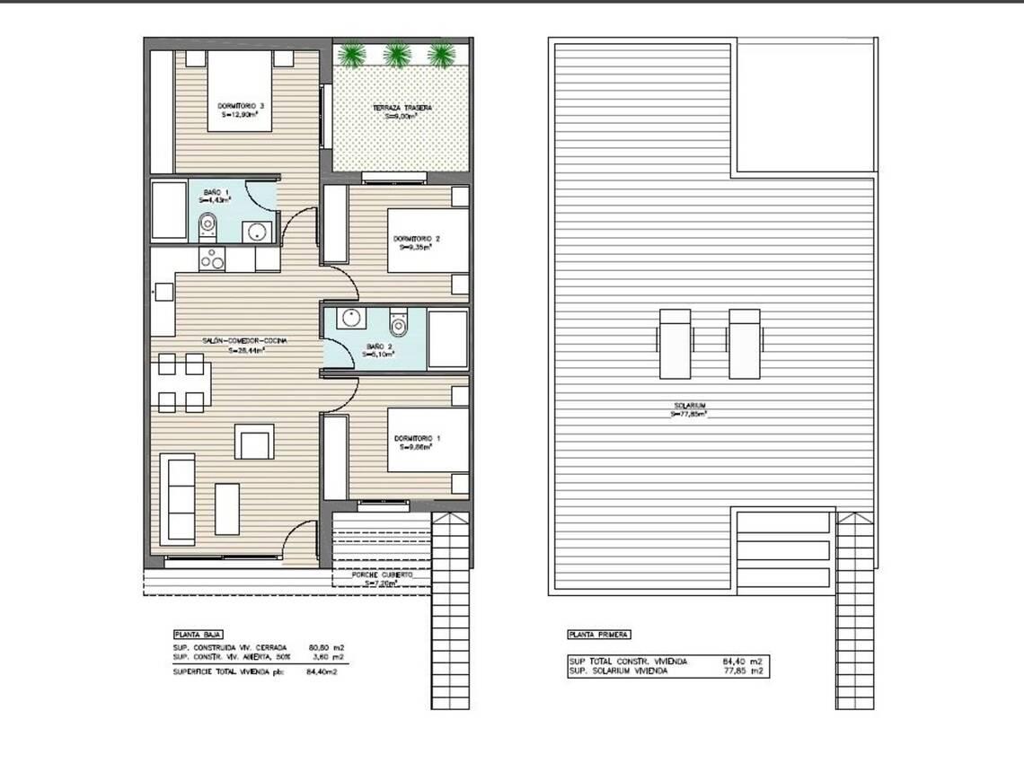 Villa 3 Dormitorio