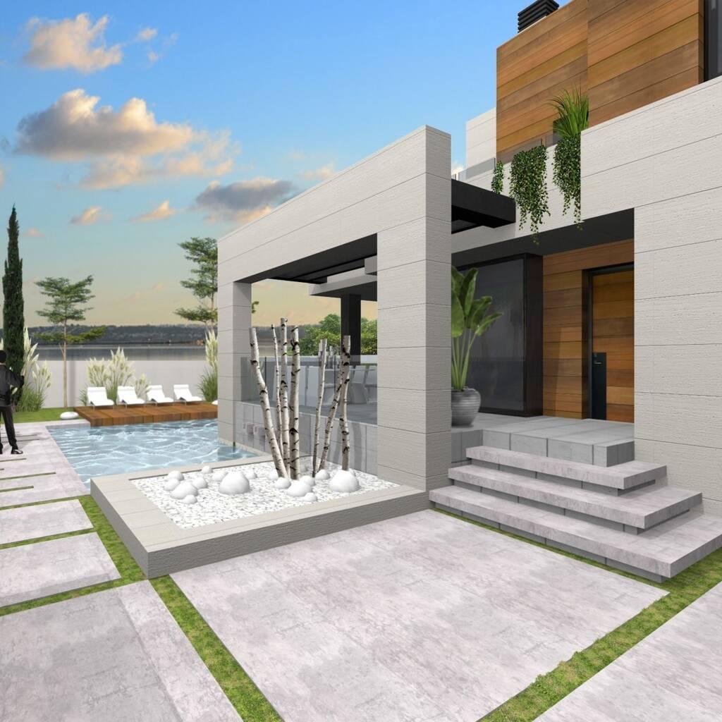 Villa i Torrevieja på 200 m2 och en tomt på 400 m2