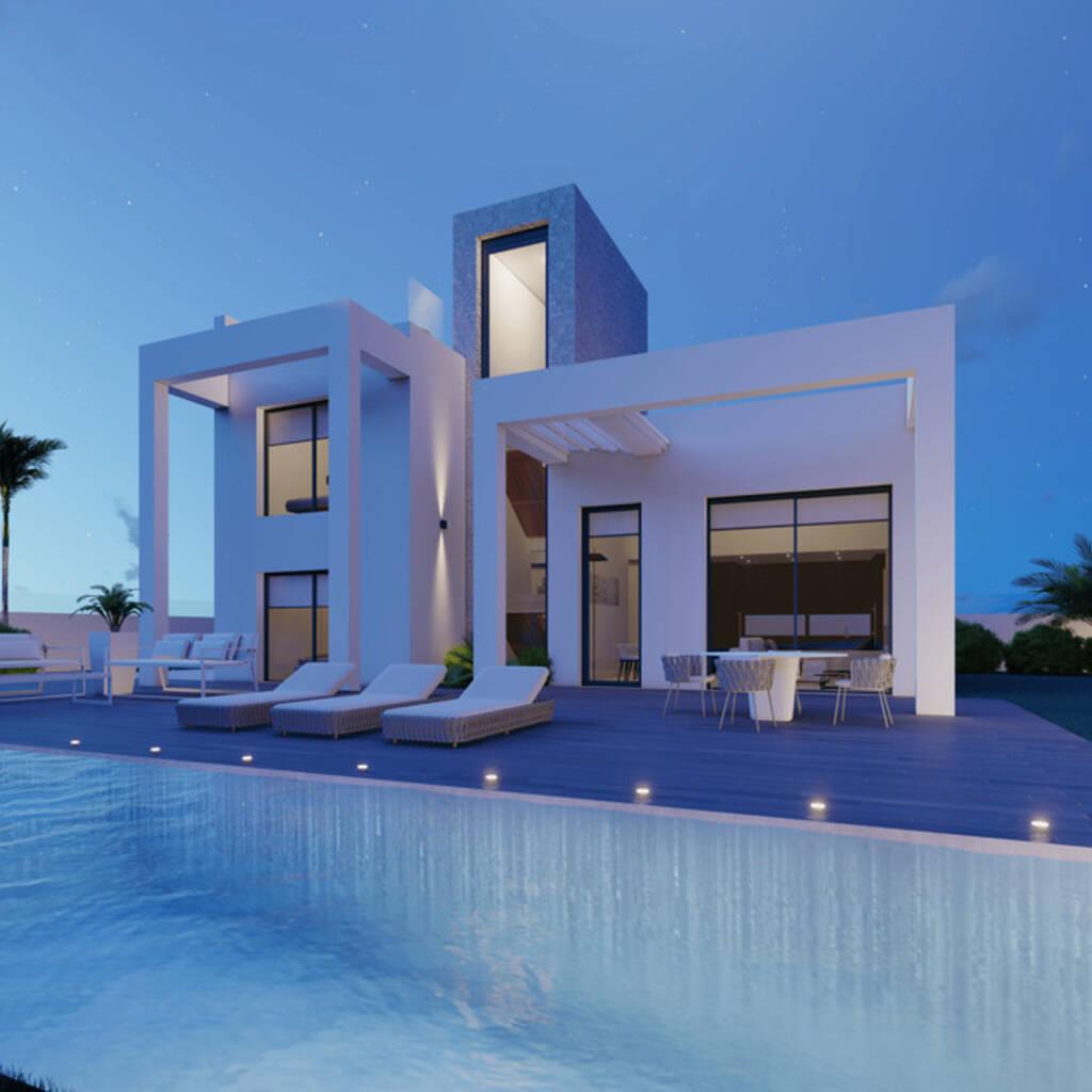 Villa i Benidorm på 225 m2