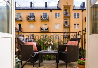 Möjlig 2:a med balkong i förening med mycket god ekonomi!