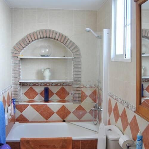 Badrummet med badkar