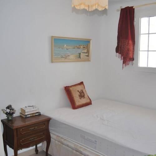Ett mindre sovrum