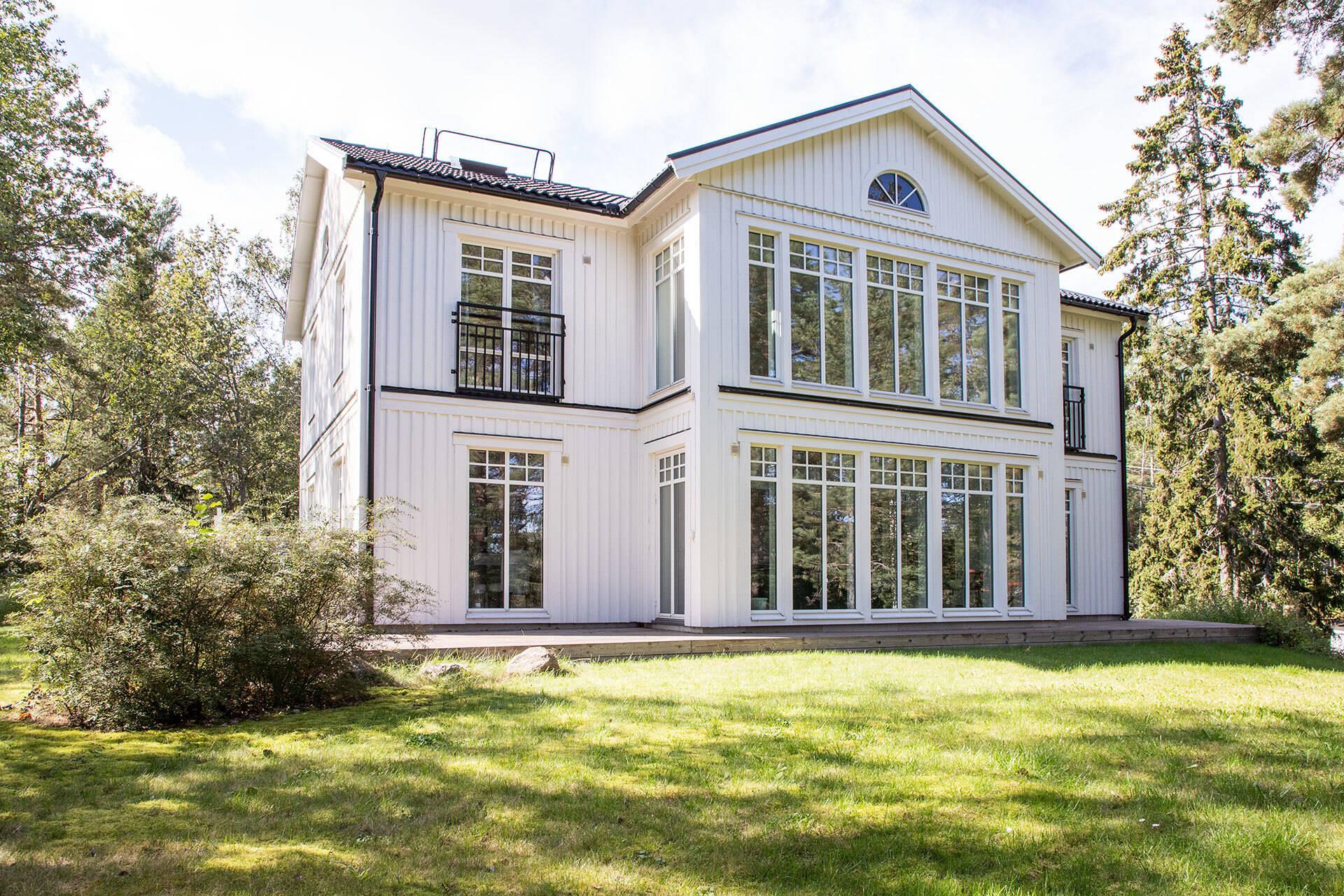 Huset byggdes 2009
