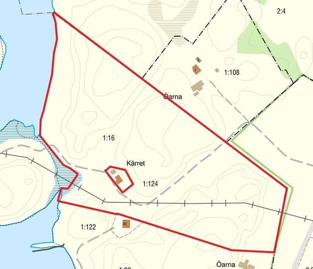 Fastighetskarta Tanum Ytterby 116