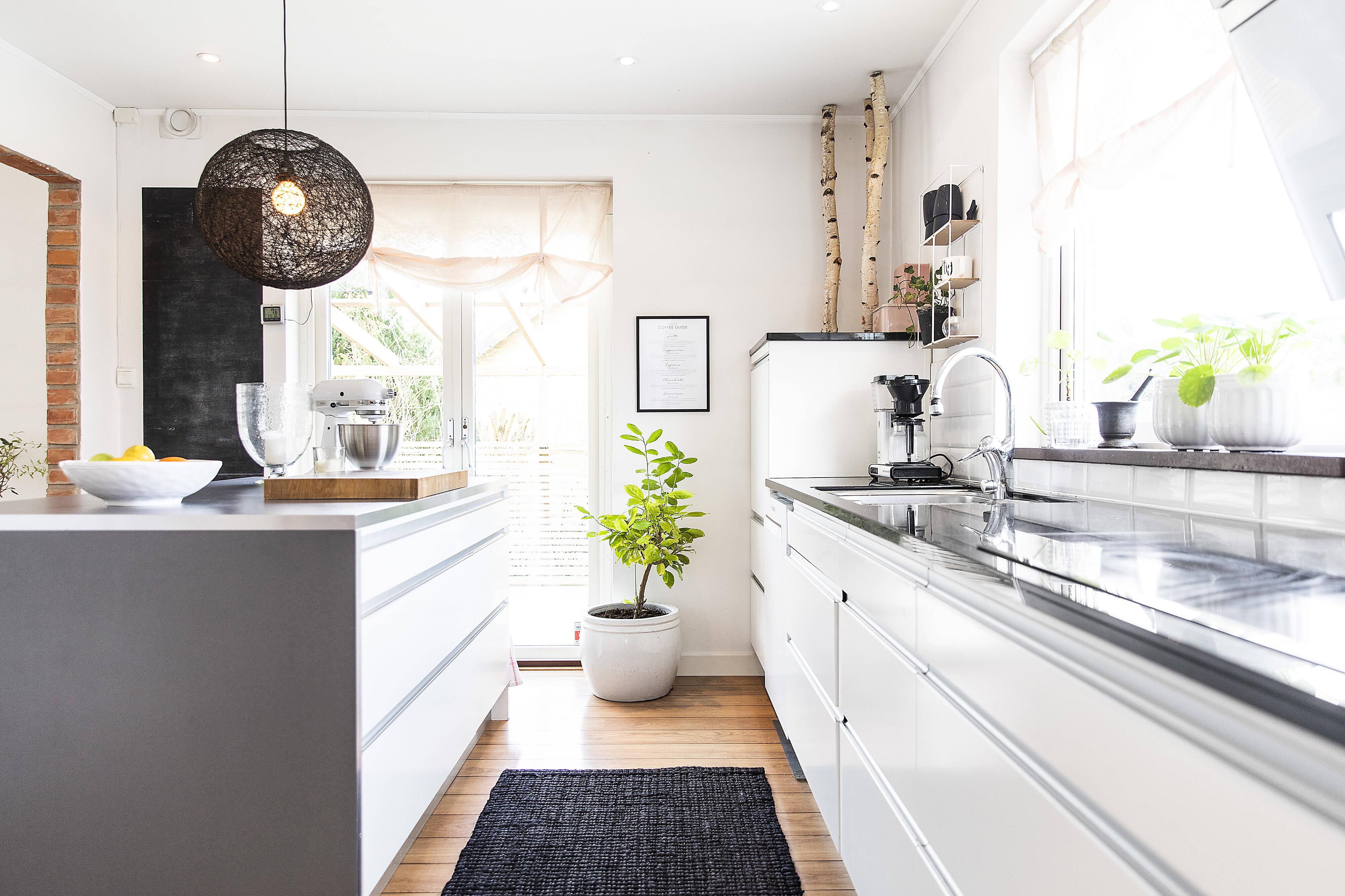 praktiskt och genomtänkt kök