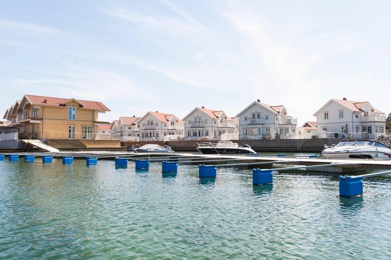 Båtplats i den gemensamma båtbryggan