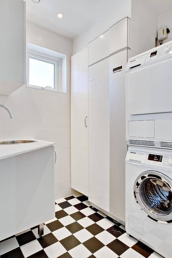 Sjöhus - interiör - tvättstuga