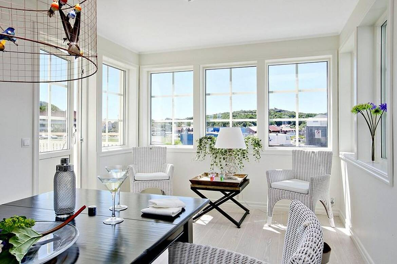 Skärgårdshus - interiör - veranda