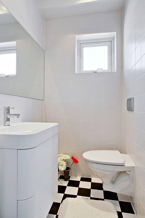 Sjöhus - interiör - WC plan 1