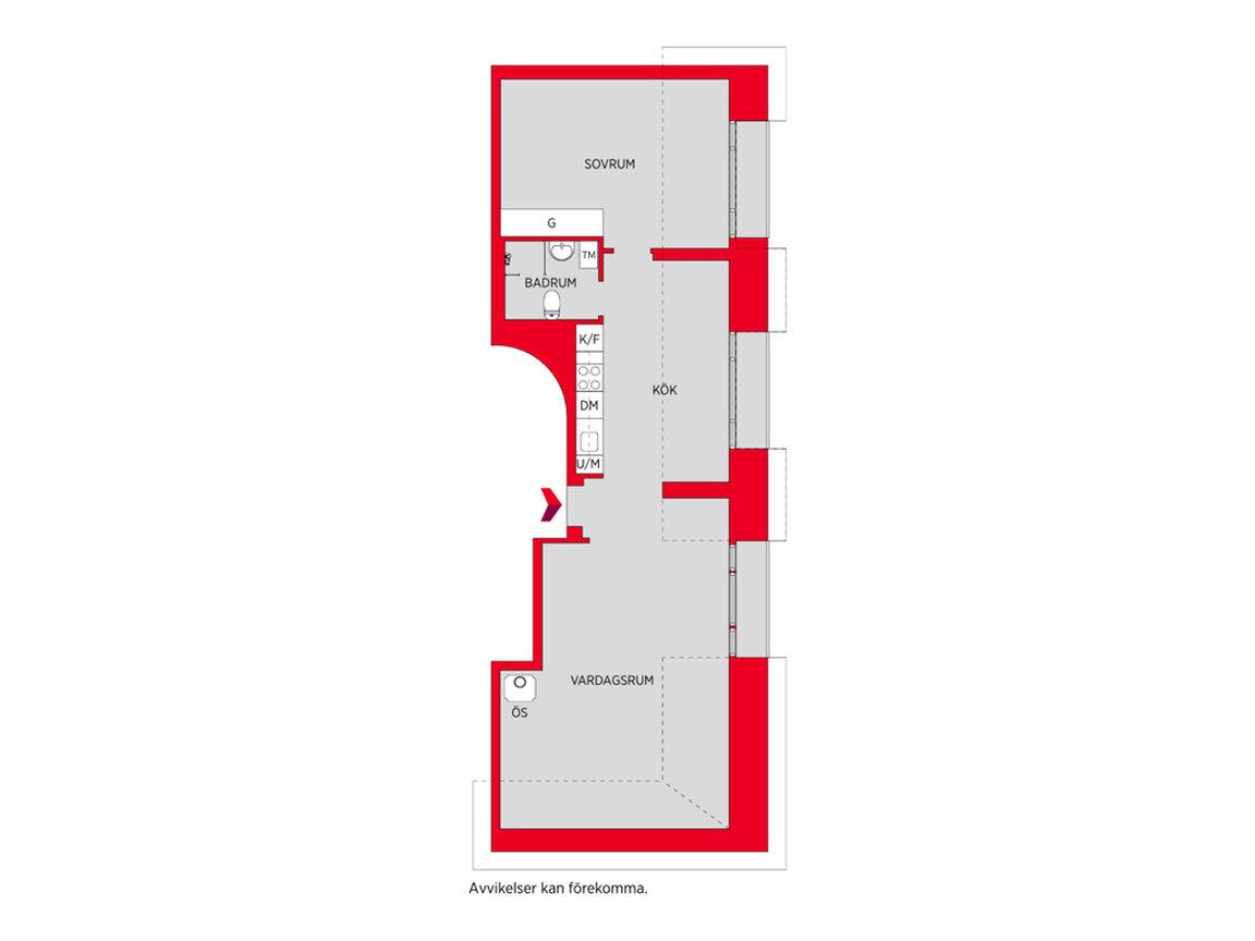 Lägenhet, Esplanaden 18, 5tr, Sundbyberg