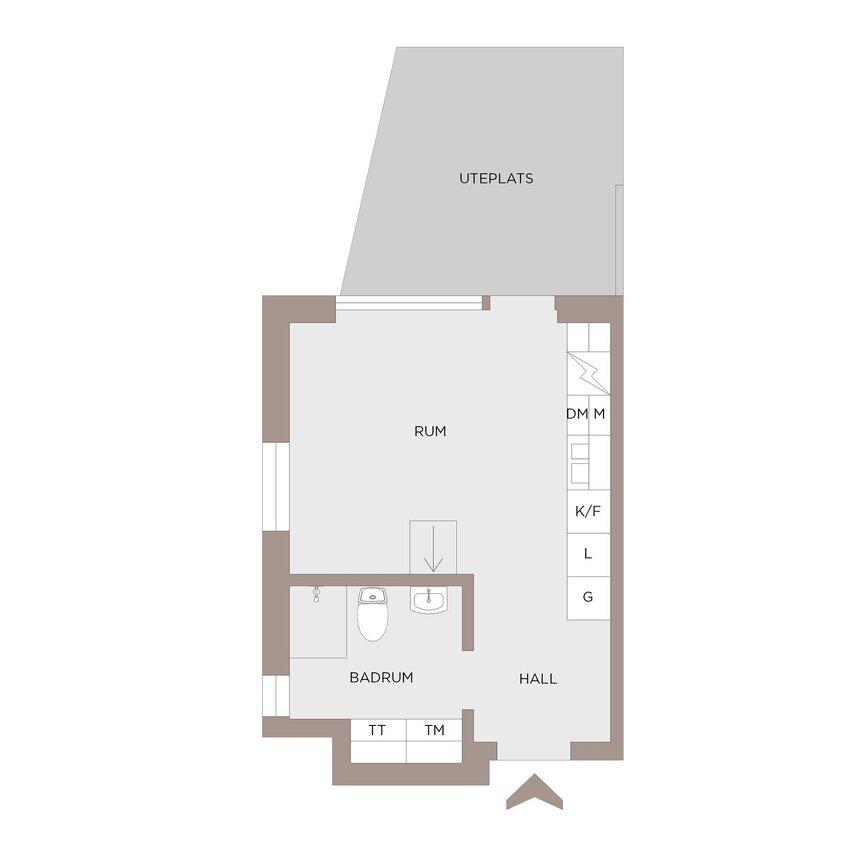Lägenhet, . Lindholmshamnen 36, Göteborg