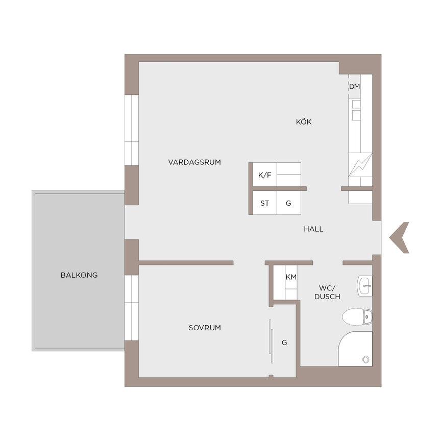 Lägenhet, Soldathemsgatan 2, Göteborg