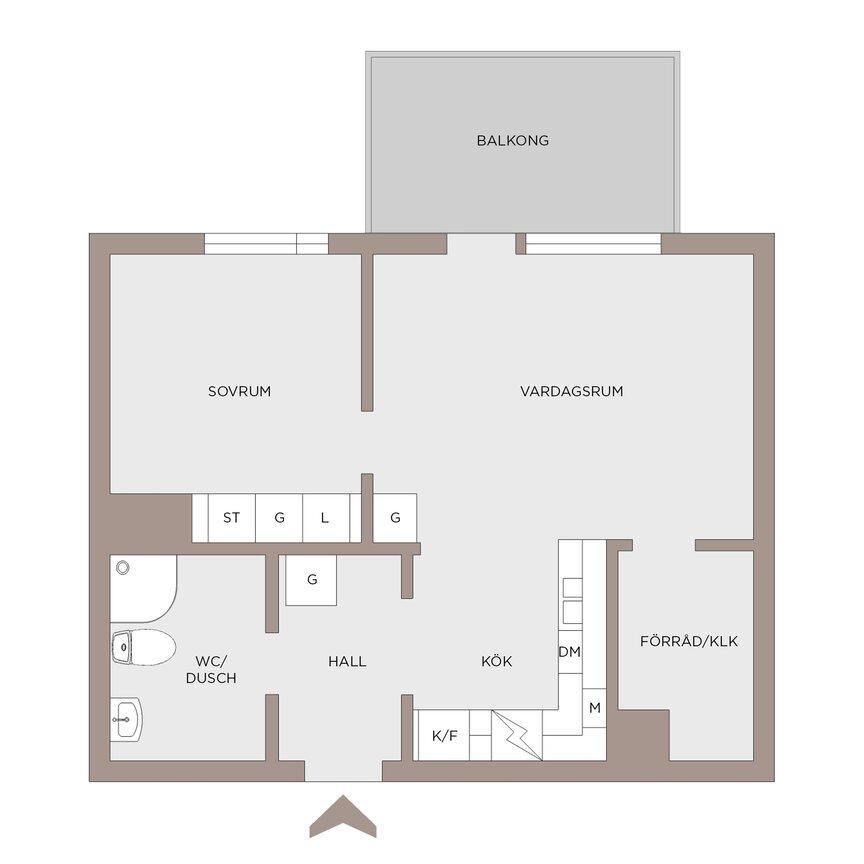 Lägenhet, . Åby Allé 3, Mölndal