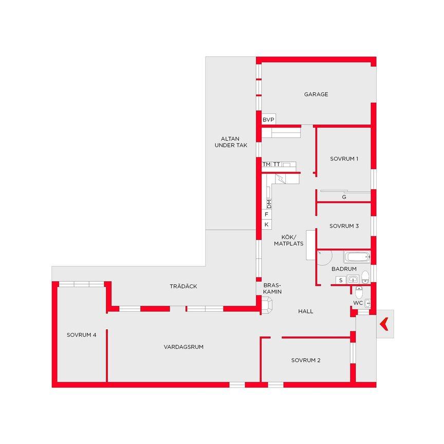 Enfamiljsvilla, Tångstavägen 3, Matfors