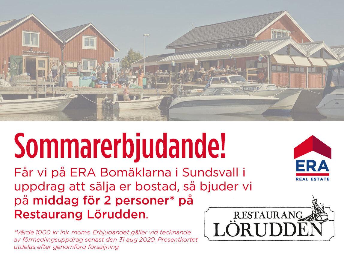 Enfamiljsvilla, Sågvägen 16F, Sundsvall