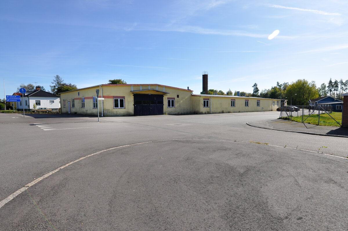 Kommersiell fastighet, ind/verkst, Idrottsgatan 5, Rörvik