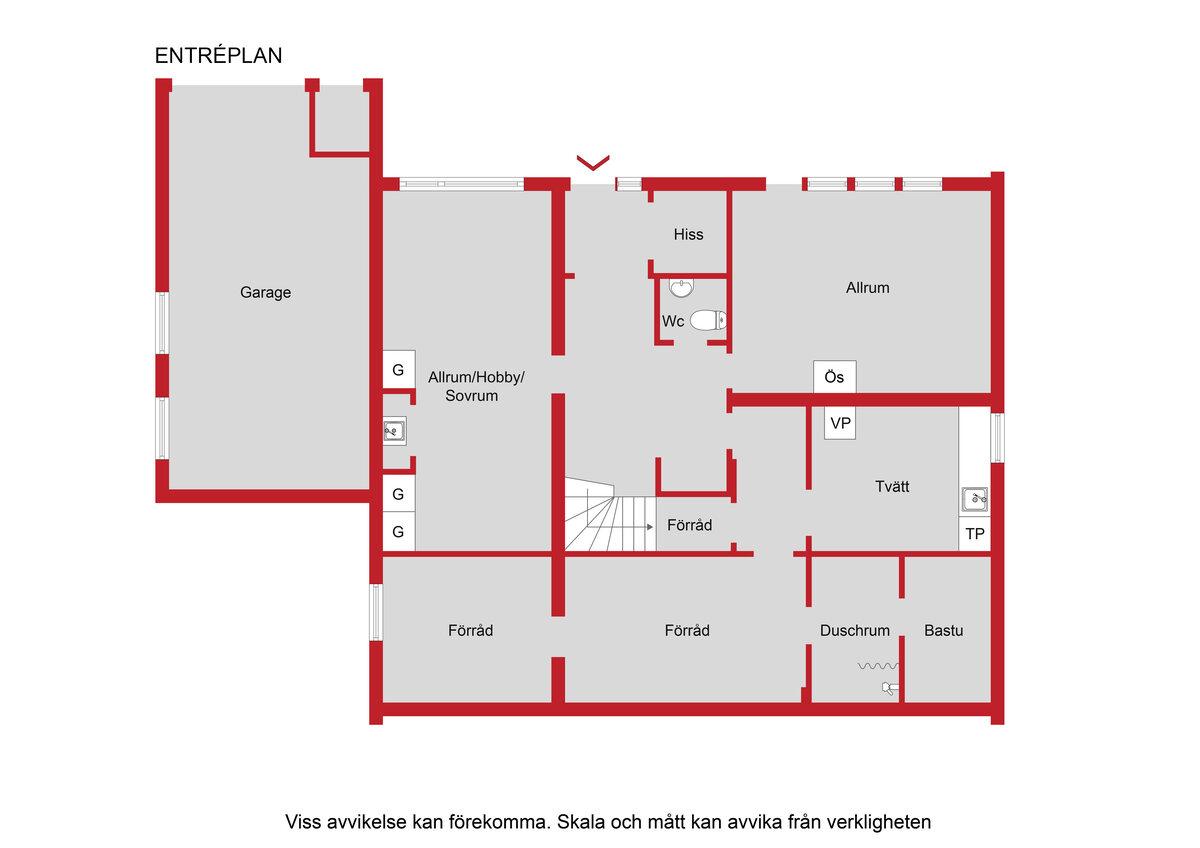 Enfamiljsvilla, Labensky Plan 6, Ekerö