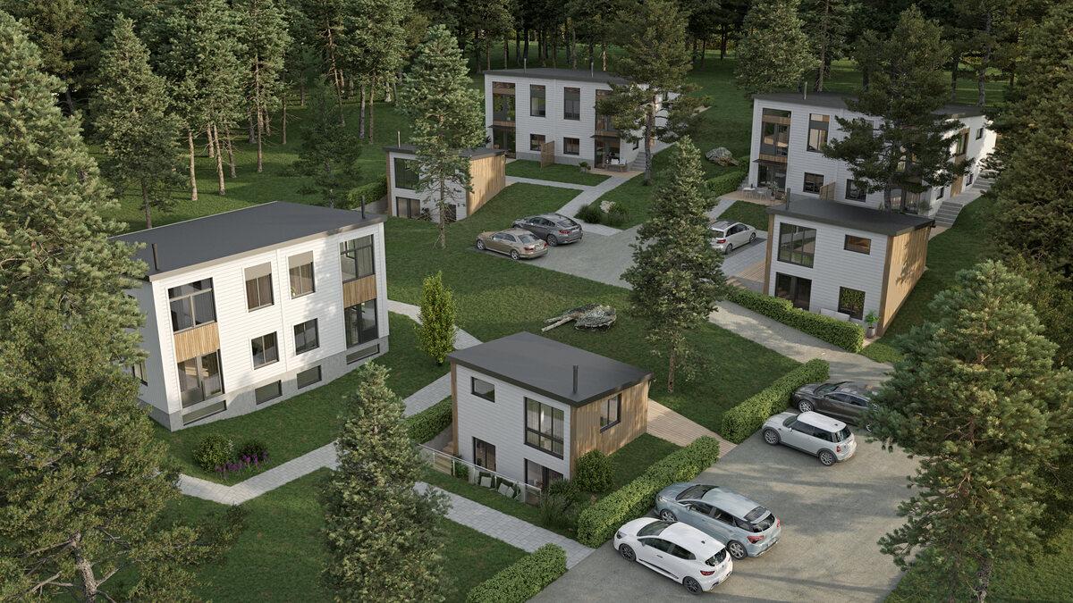 Nyproduktionsprojekt, . Ripvägen 2, Saltsjö-boo