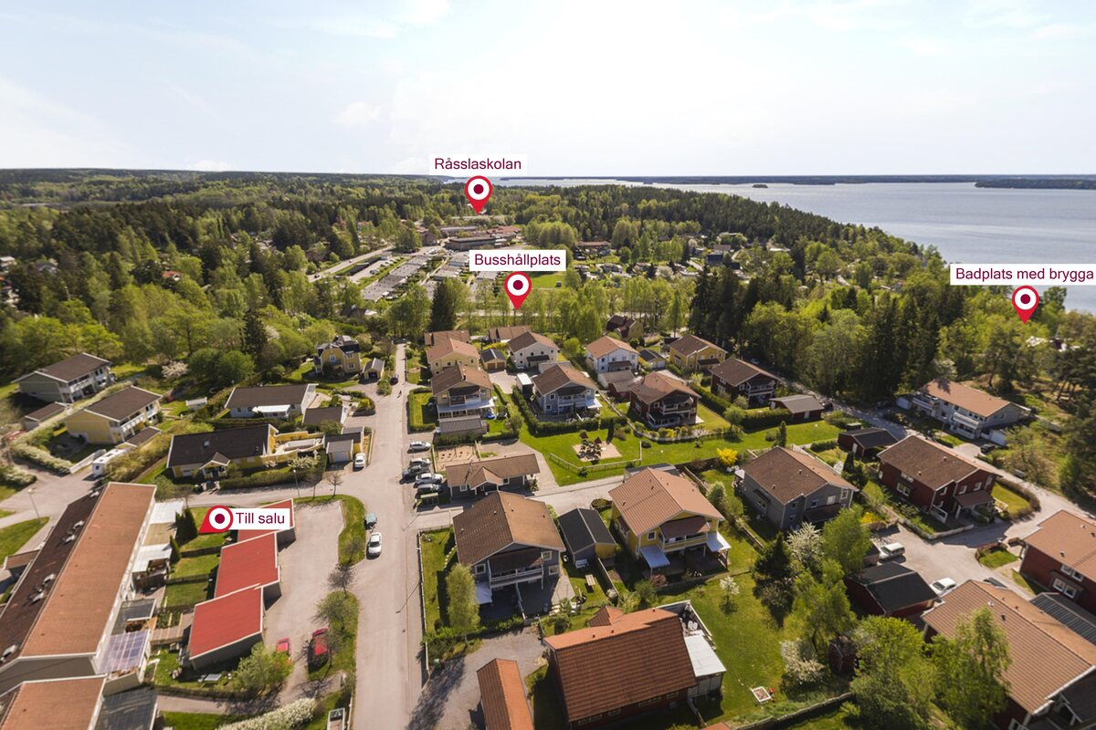 Radhus, . Gjutarvägen 101, Kolmården