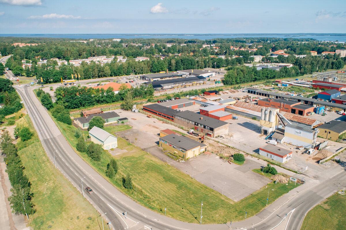 Kommersiell fastighet, ind/verkst, Förrådsgatan 12 och 14, Mariestad