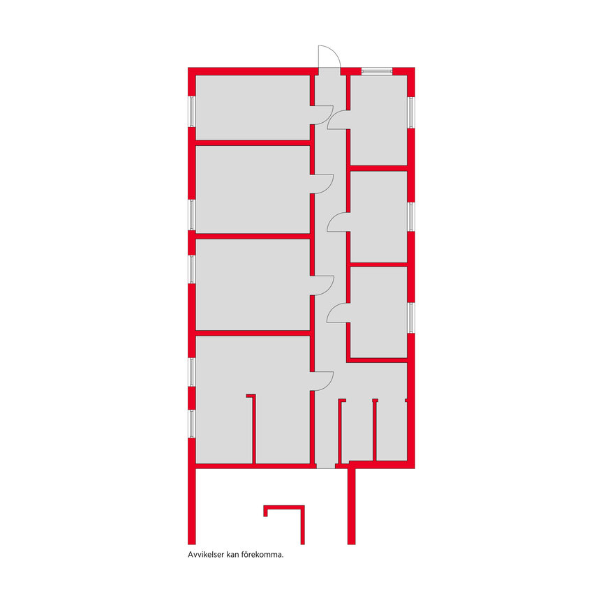 Kommersiell fastighet, Hagabergsvägen 5, Ullared