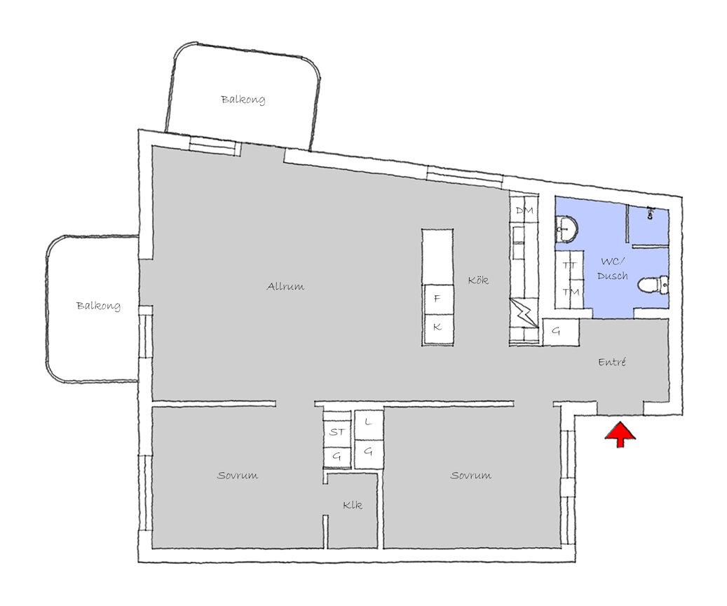 Lägenhet, . Hisingsgatan 10, Göteborg