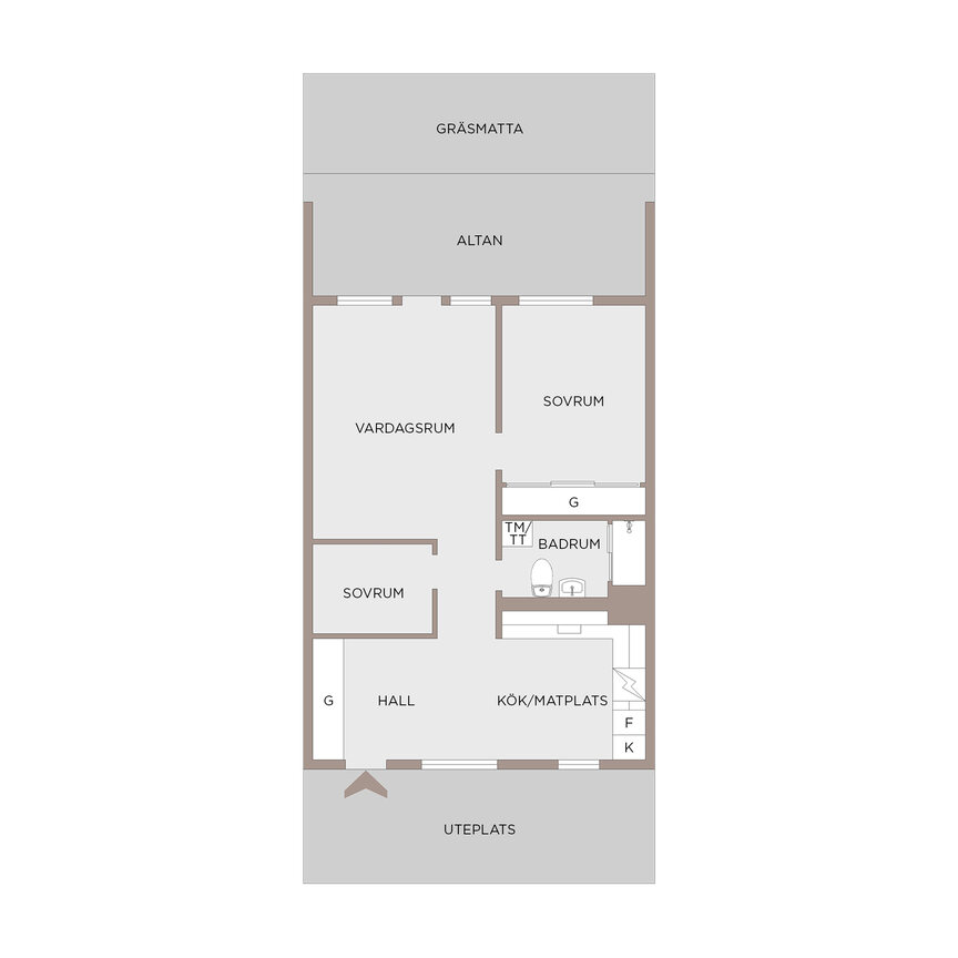 Lägenhet, Lillekärr Södra 124, Hisings Kärra