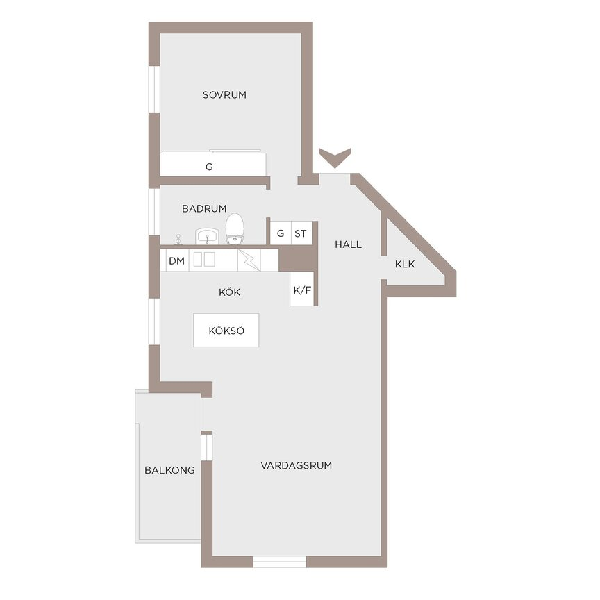 Lägenhet, . Hyggesvägen 10, Partille