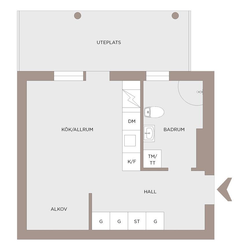 Lägenhet, Långängen 8A, Göteborg