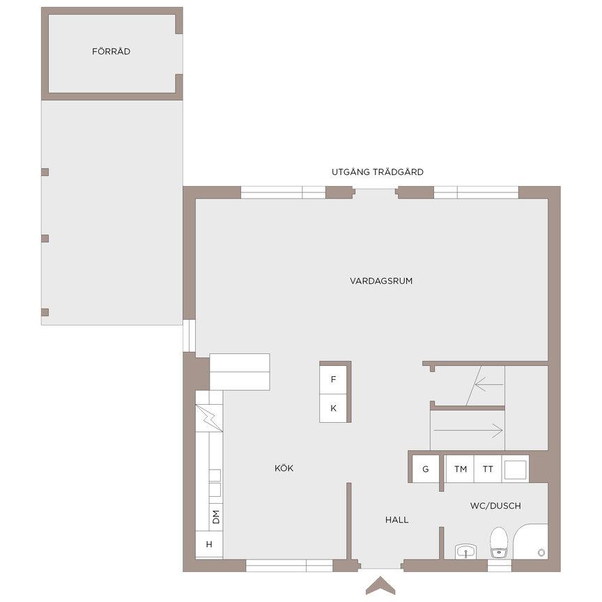 Lägenhet, Bergums Prästgårdsbacke 27, Olofstorp