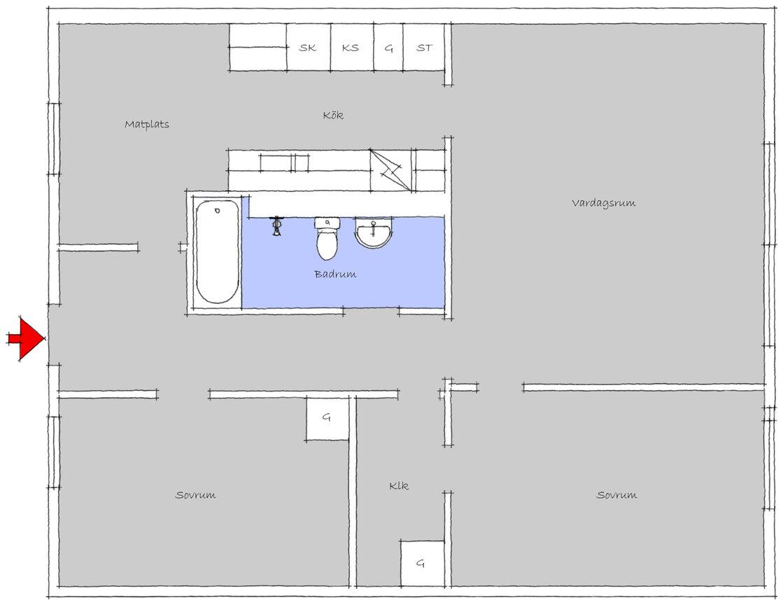 Lägenhet, Lillekärr södra 164, Hisings Kärra