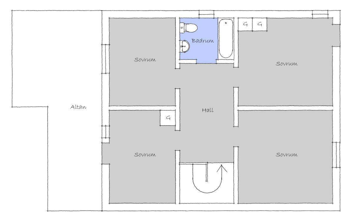 Lägenhet, Svanehöjdsgatan 10B, Göteborg