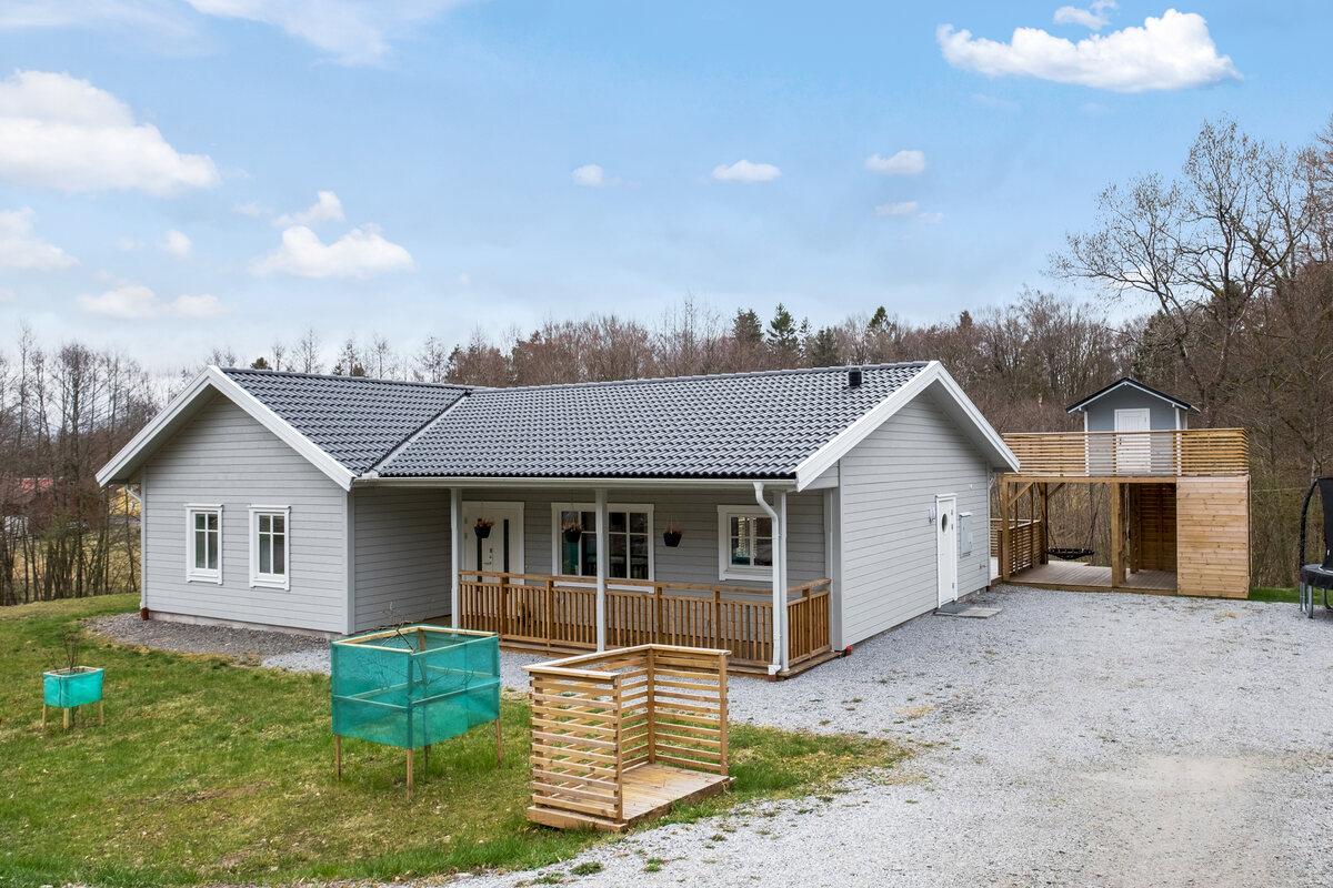 Enfamiljsvilla, Västra Trädal 205, Kärna