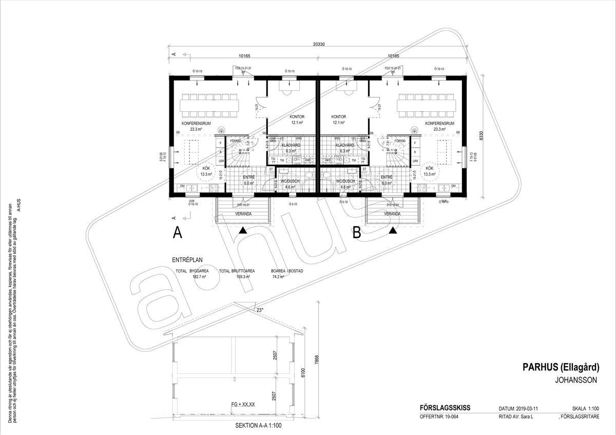 Lokal, kontorshotell, Arntorp 155, Kareby