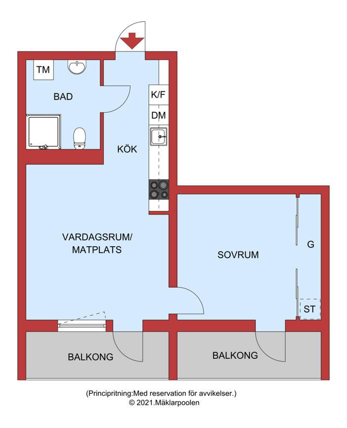 Lägenhet, . Trunstavägen 11, Knivsta