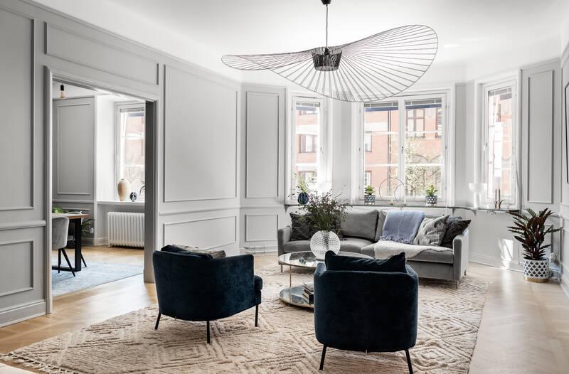 Nestor Fastighetsmäkleri – Fleminggatan 30 – Genomgående fyra högt upp i huset med ett fantastiskt b