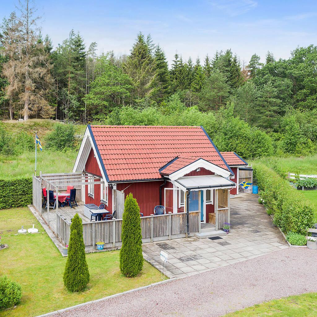 Minivilla med hög standard i Fagerdals fritidsboende