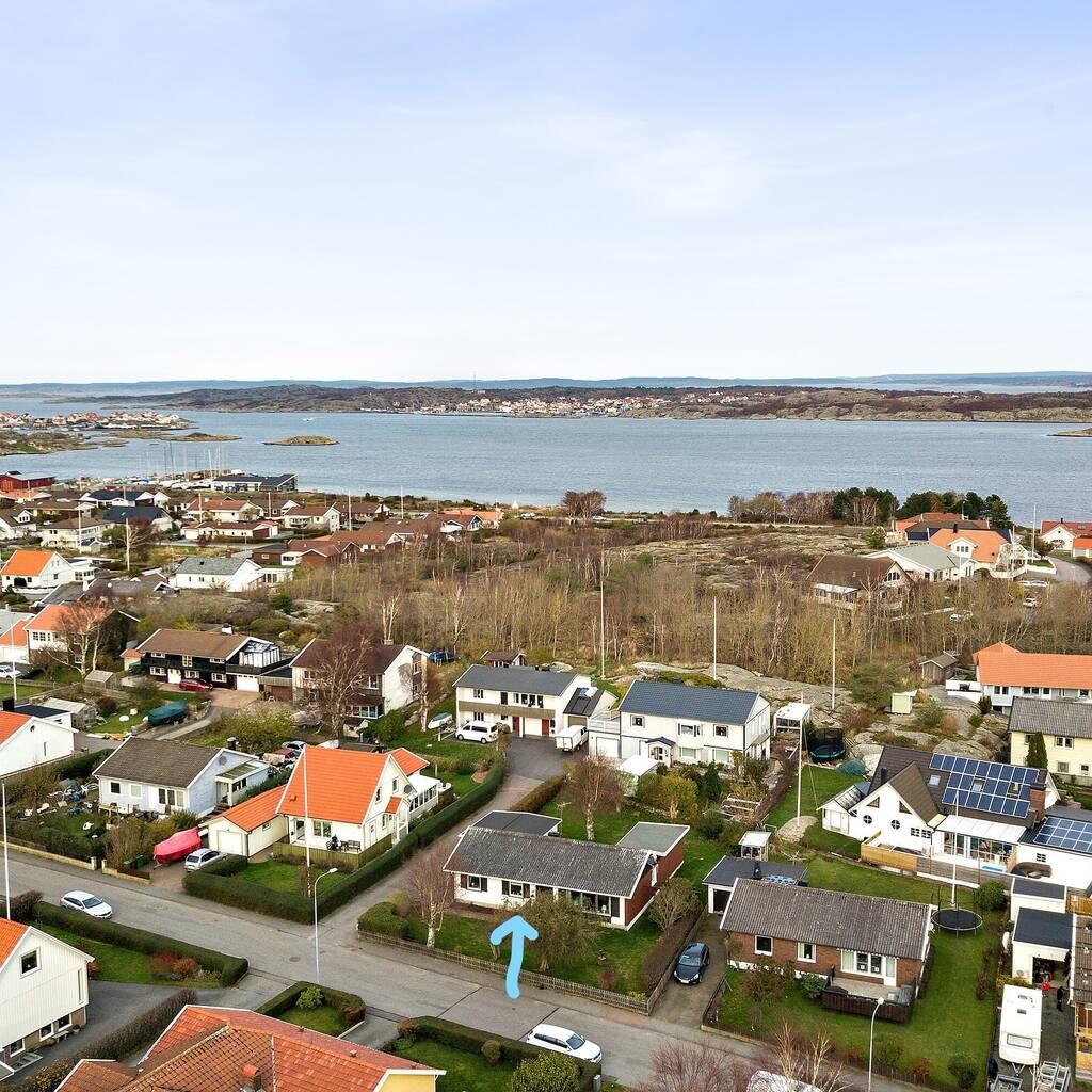 Enplansvilla i populärt område