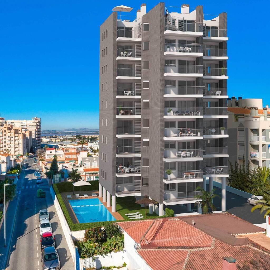 Lägenhet i Torrevieja på 84 kvm, Spanien
